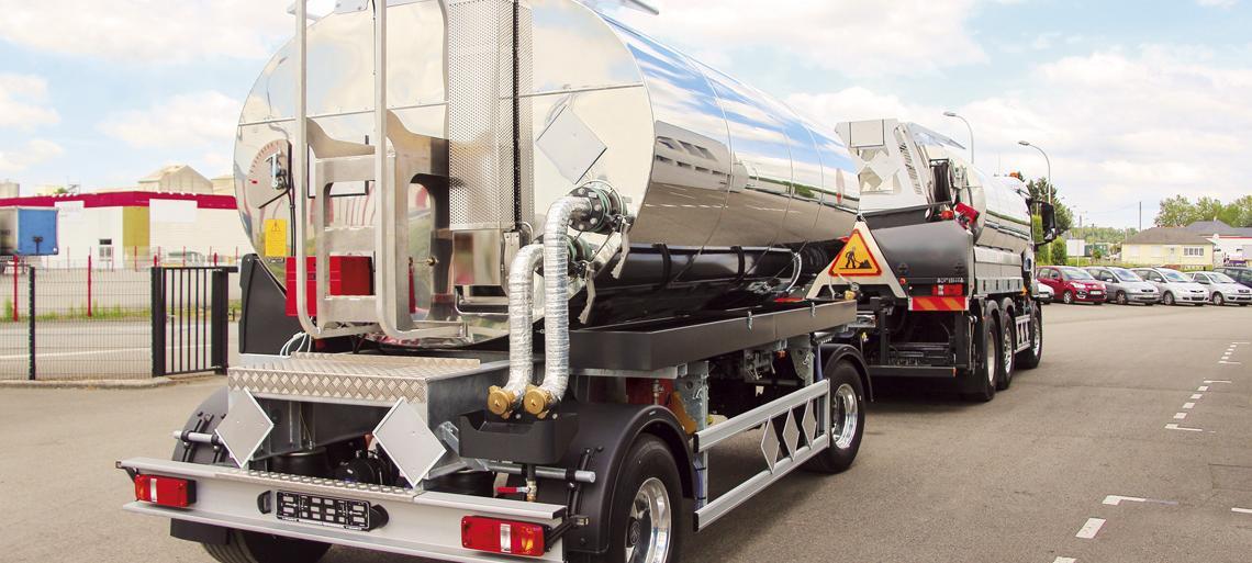 Binder Transport Trailer & semi-trailer 524 R or SR